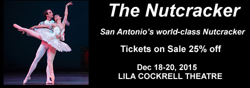 San Antonio's Nutcracker Tickets on Sale Now