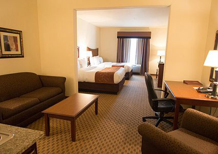 Comfort Suites San Antonio Stone Oak - double with sofa bed