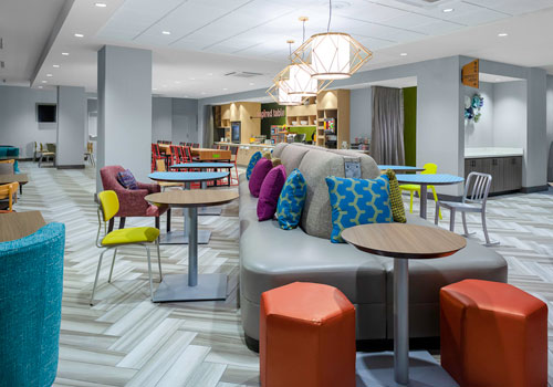 Hampton Inn & Suites San Antonio River Walk - Breakfast Area
