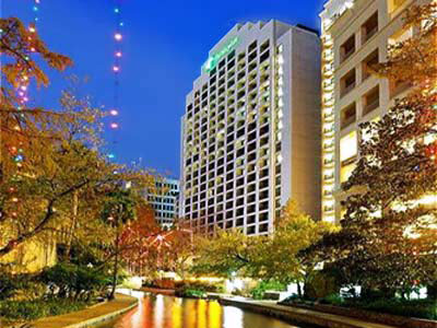 Holiday Inn San Antonio Riverwalk front hotel