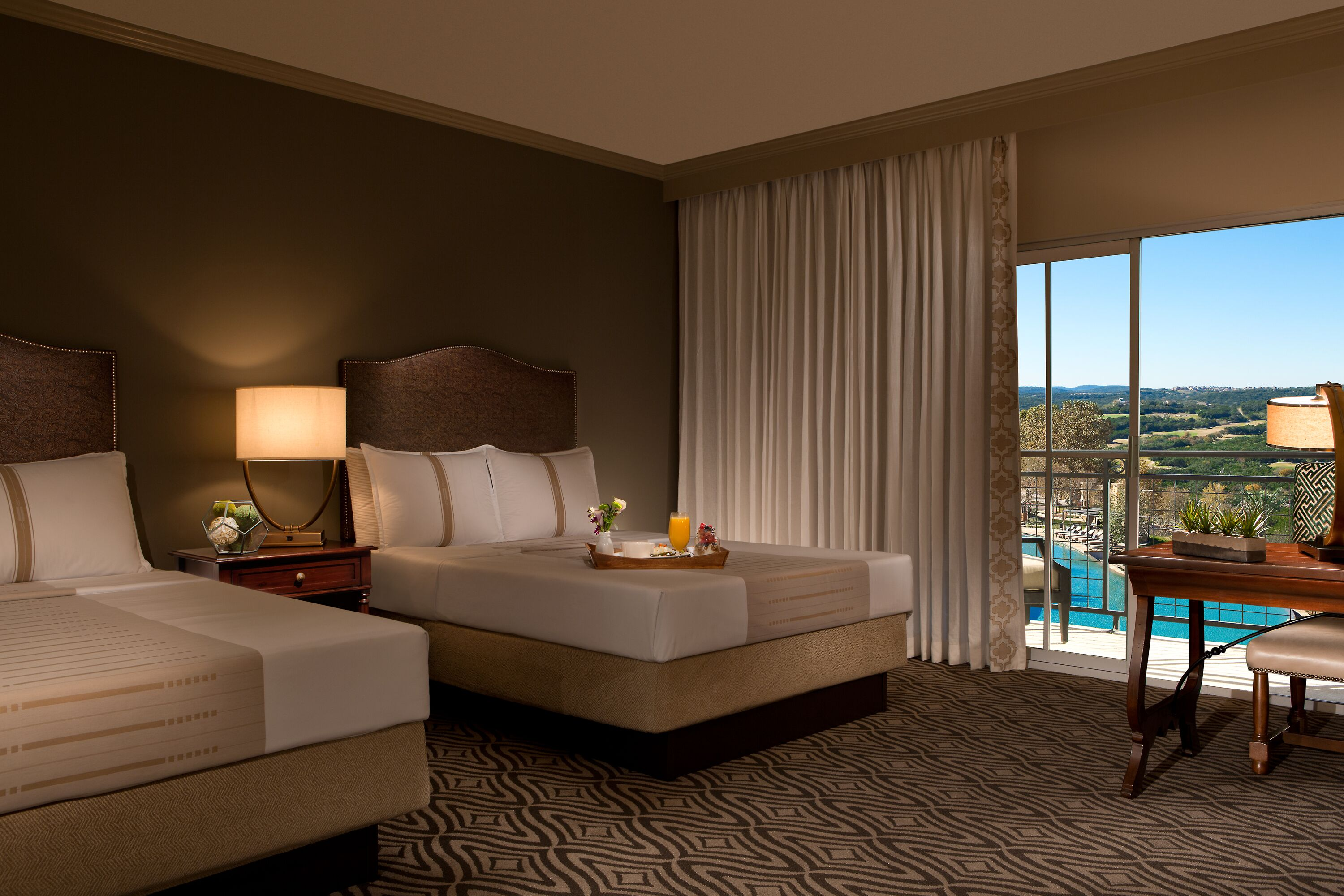 La Cantera Resort San Antonio double bed room