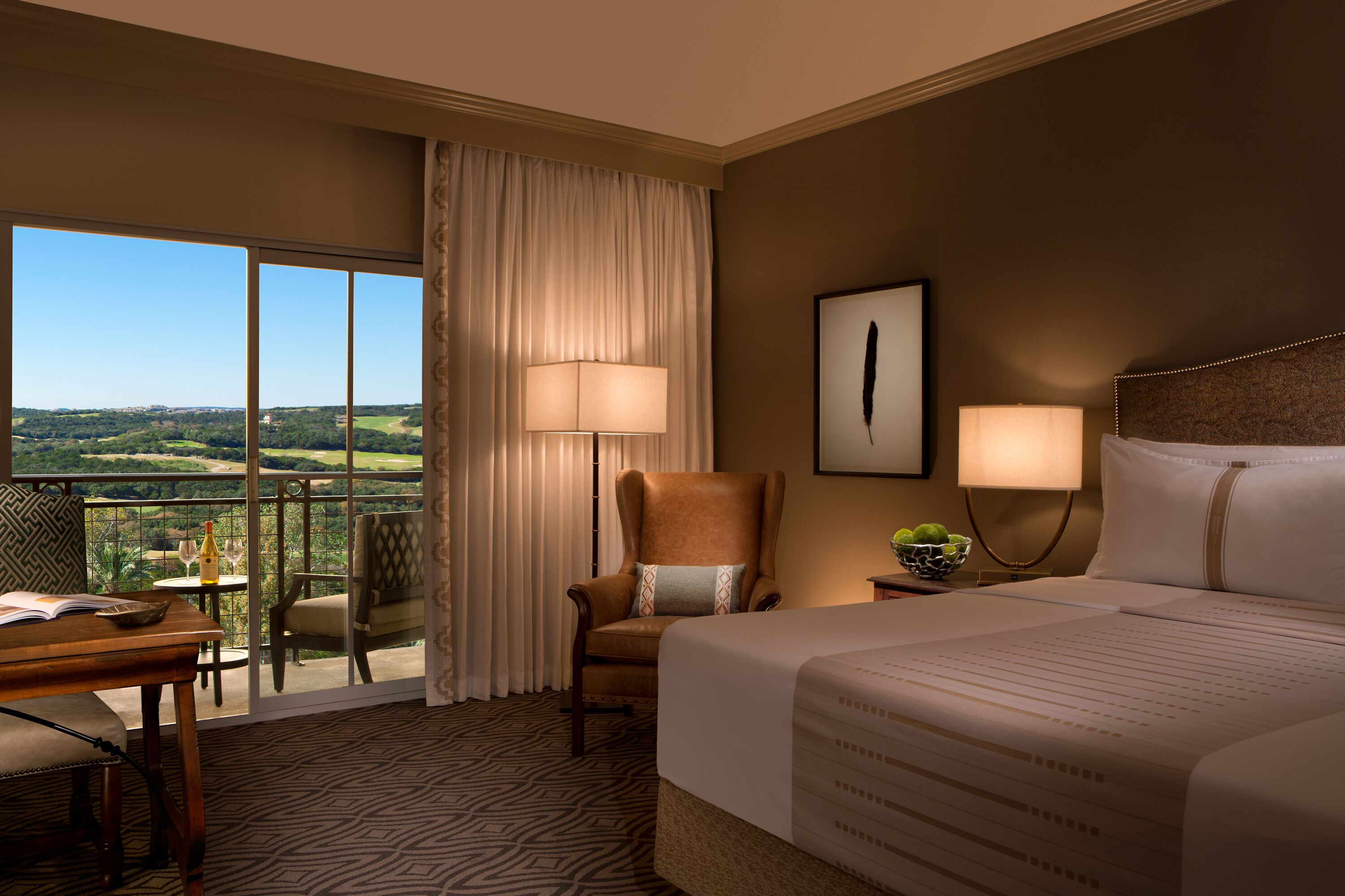 La Cantera Resort San Antonio king bed room